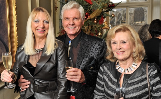 The Lady Taverners Hold Christmas Lunch At Abode The