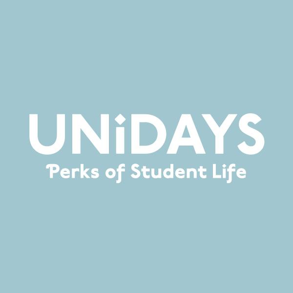 To score your deal, prove you're a student (and not just the weird guy hanging around campus) by registering with UNiDAYS.