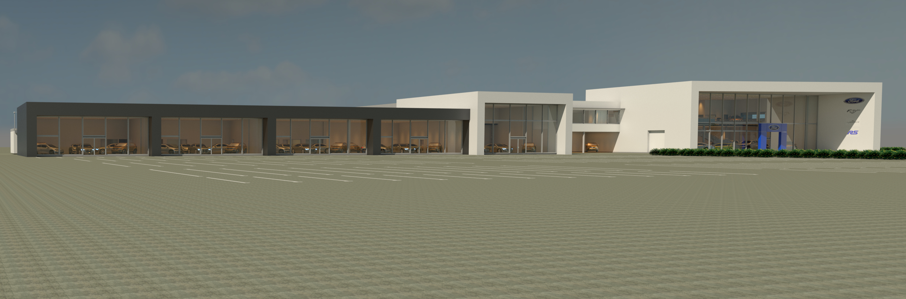 Contractor Appointed By Vospers For 163 10m Car Dealership In