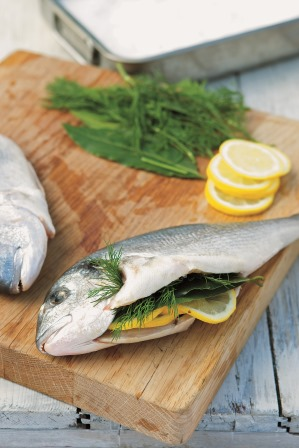 how to cook bream in the oven
