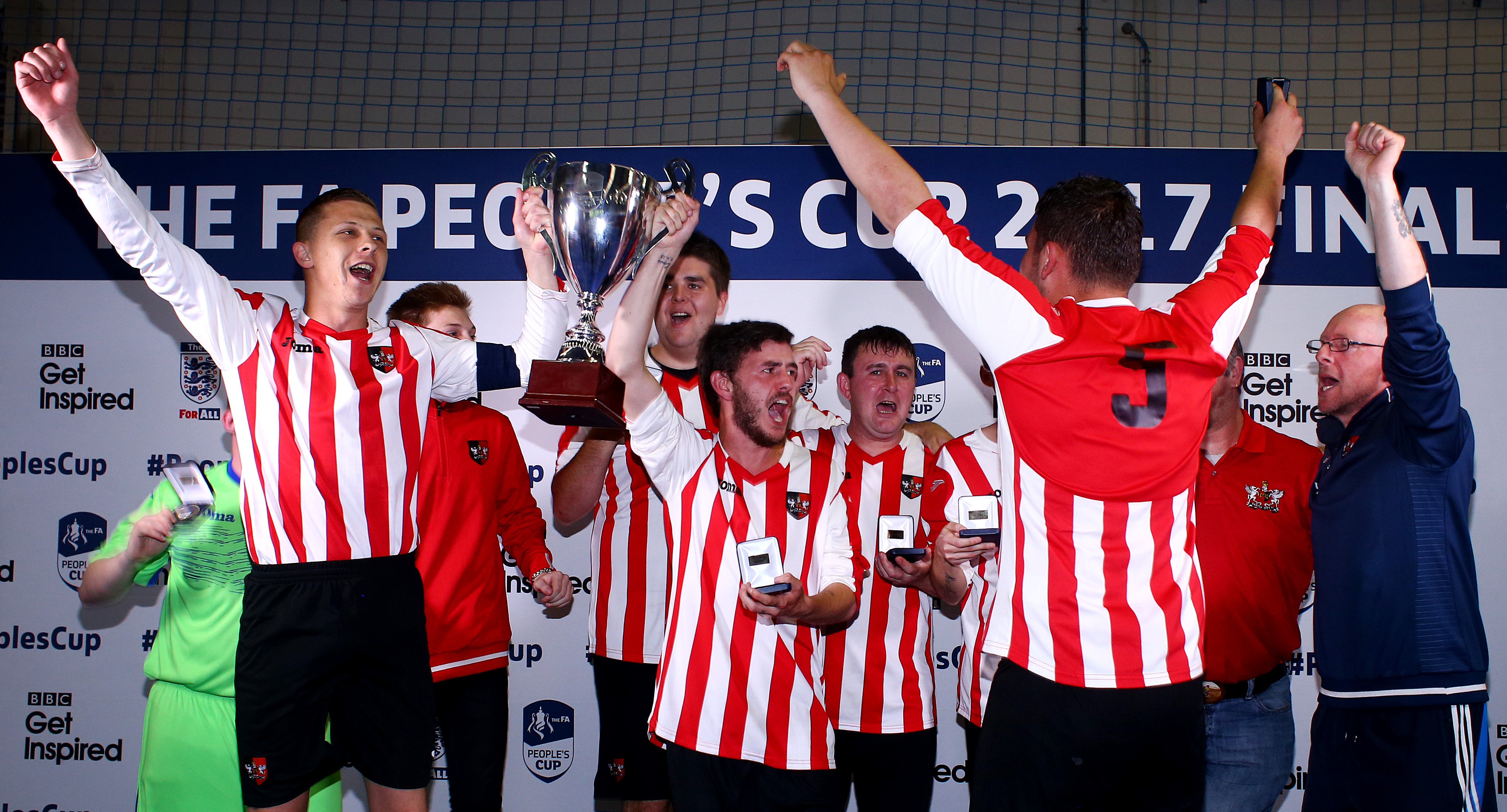 Wembley date for Exeter City Men's Disability Team