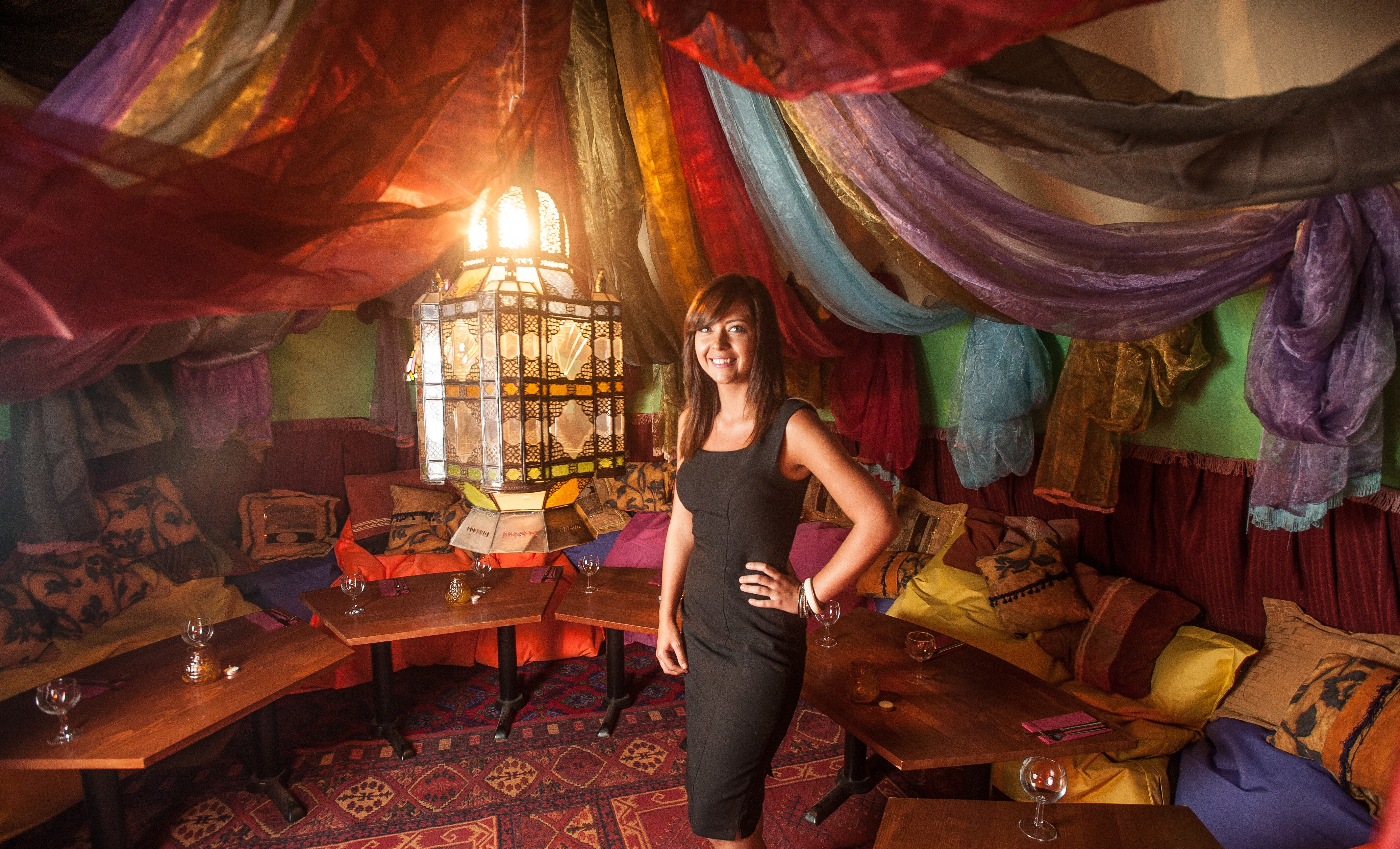Fabric Chairs For Dining Room Get Ready To Rock The Kasbah At New Moroccan Restaurant In