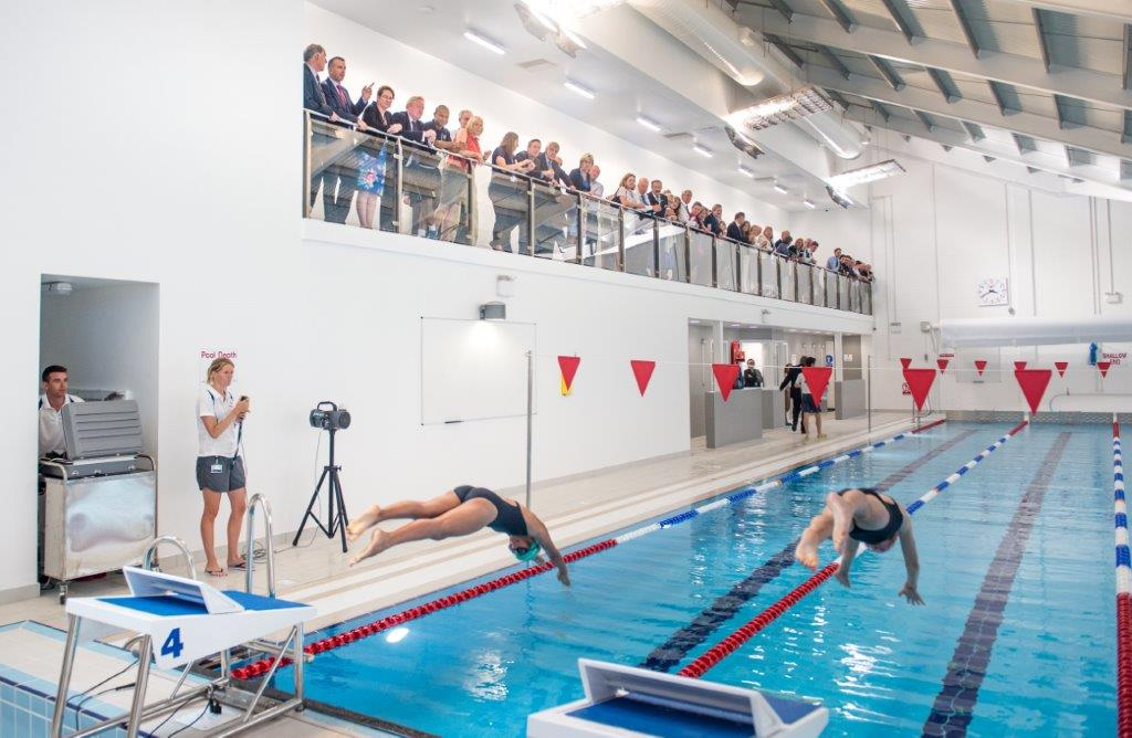 Exeter School Opens New Indoor Pool The Exeter Daily