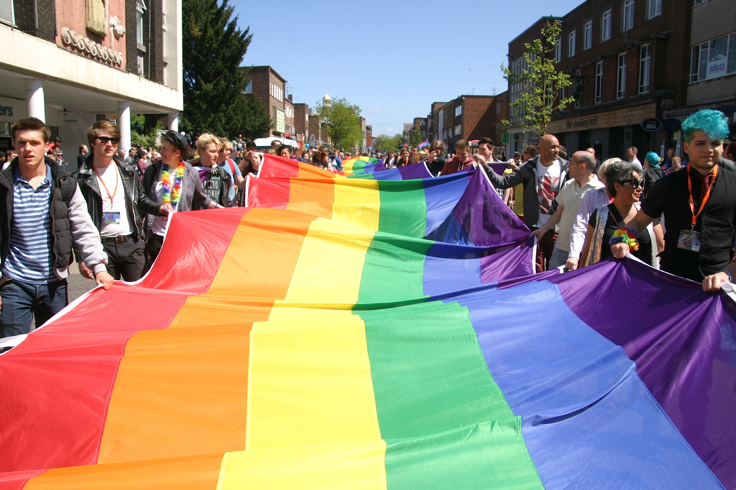 Date announced Exeter Pride 2016