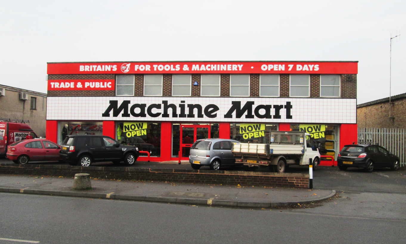 national tools machinery store opens in exeter the. Black Bedroom Furniture Sets. Home Design Ideas