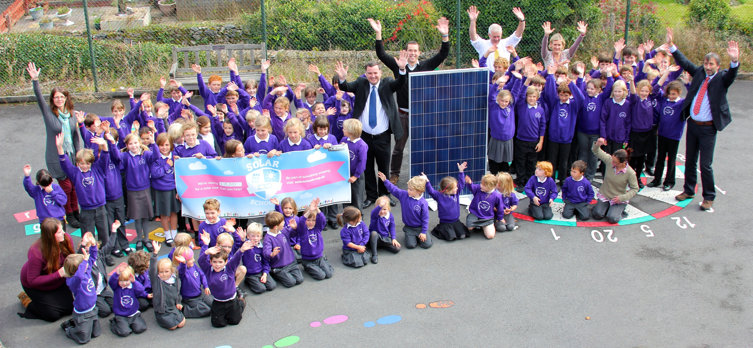 Christow Primary Selected For Green Initiative The
