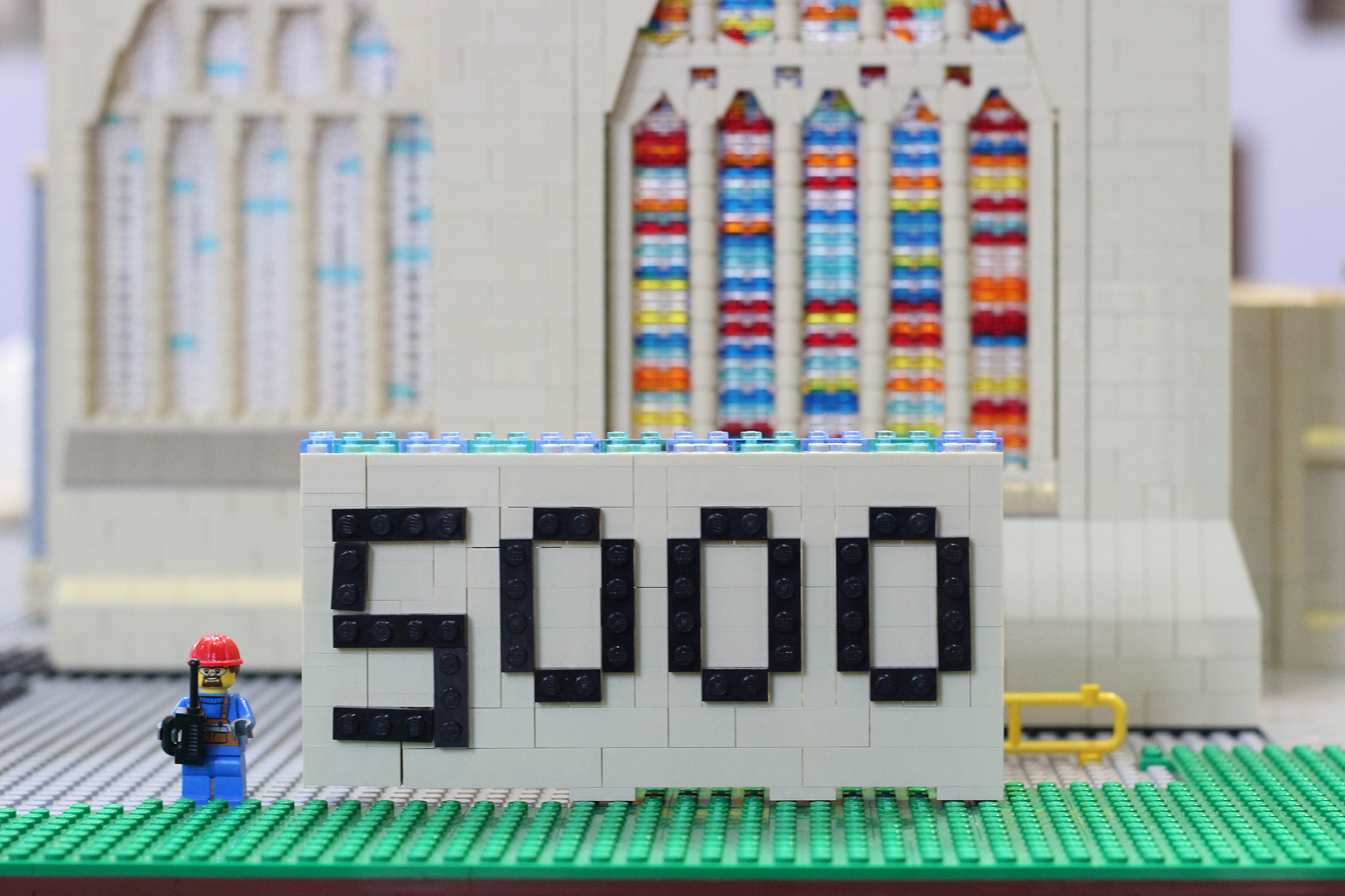 the big lego milestone 5 000 bricks and counting the exeter daily
