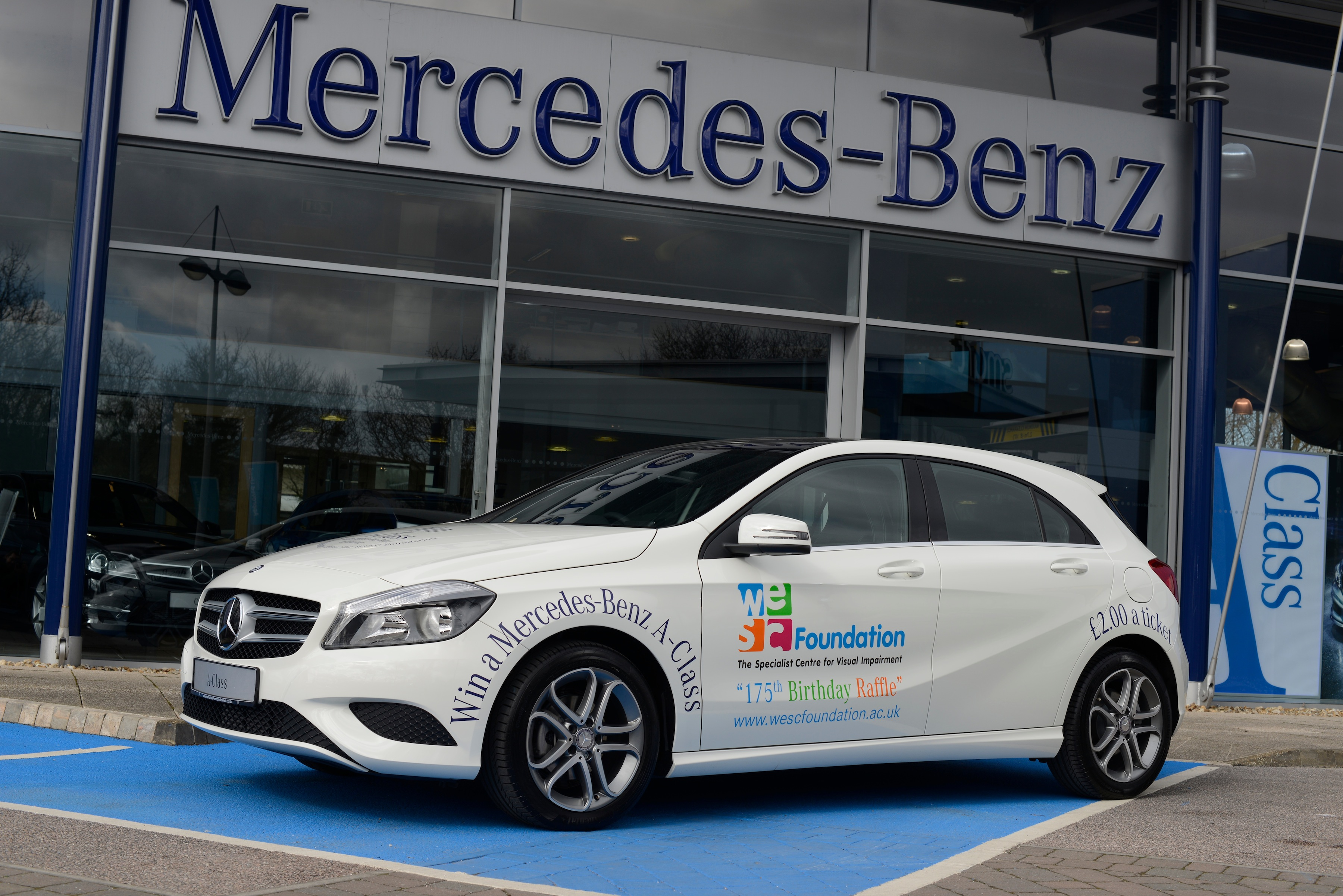 Last chance to win a mercedes benz with wesc the exeter for Win a mercedes benz