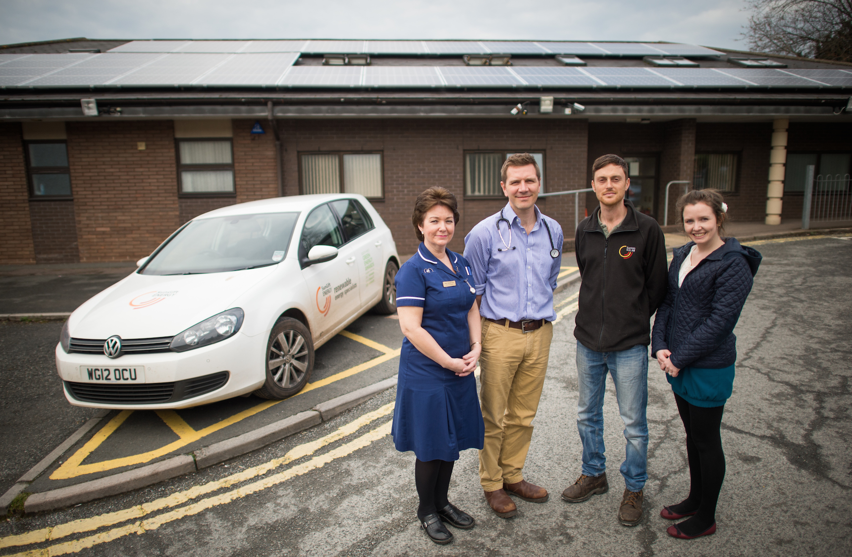 Exeter Gps Health Centre Prescribes Solar The Exeter Daily