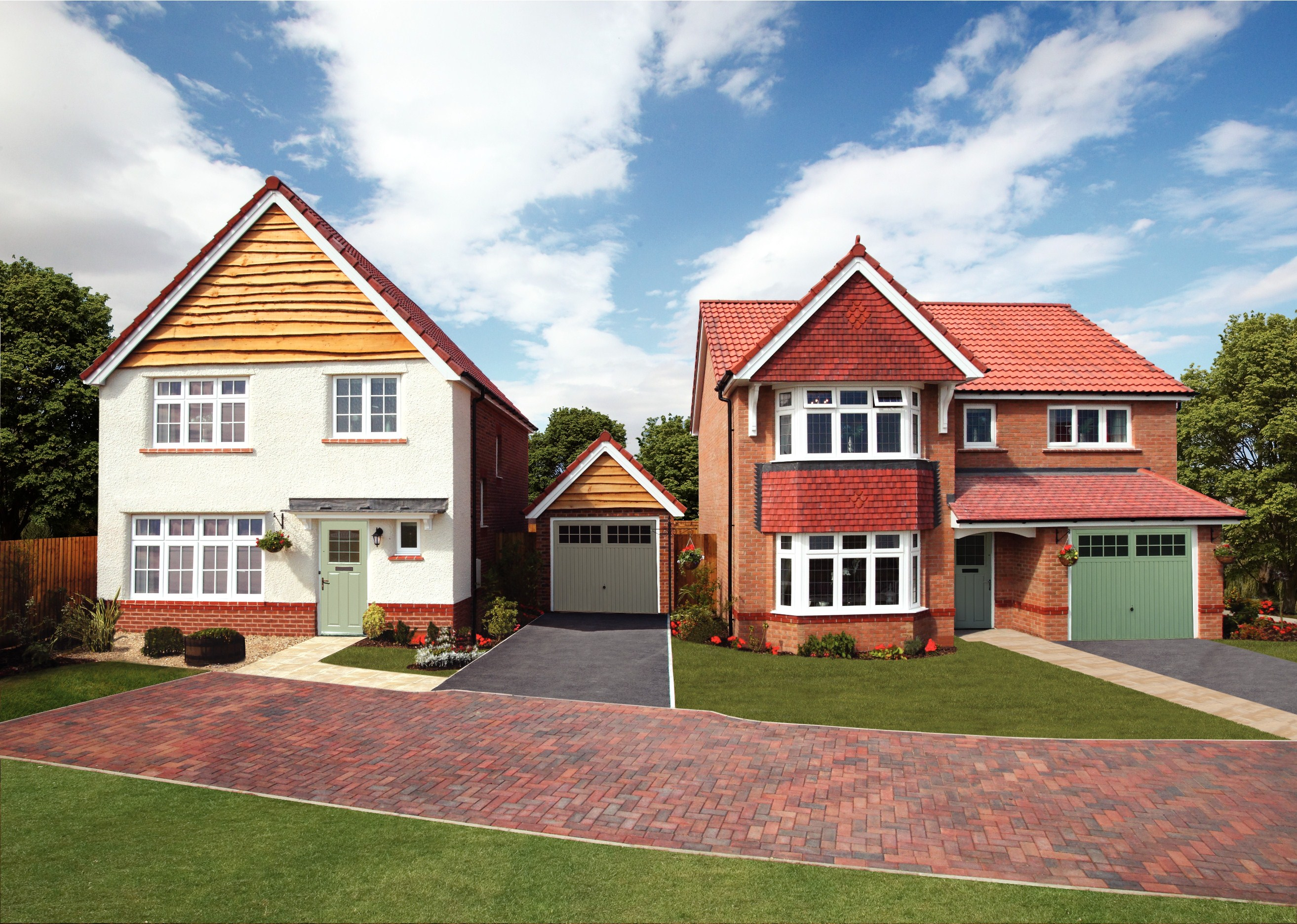 Properties at the harringtons are selling fast the for Local house builders