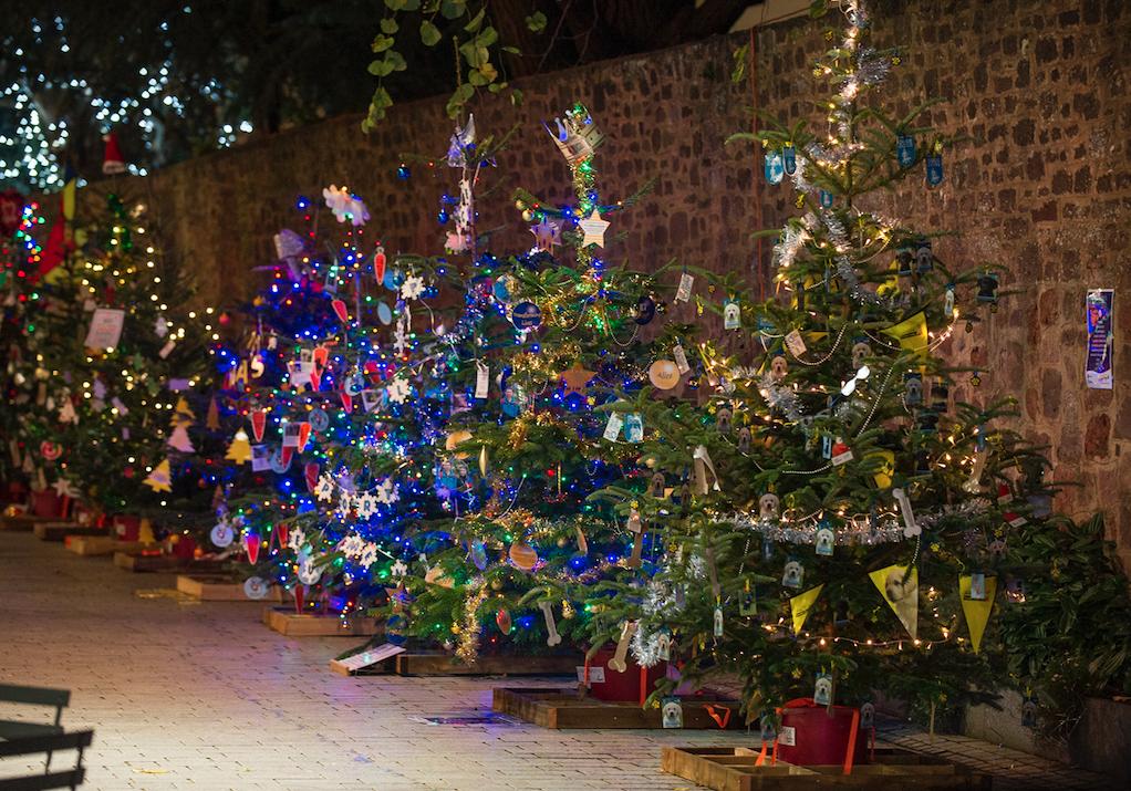 christmas lights exeter 2018