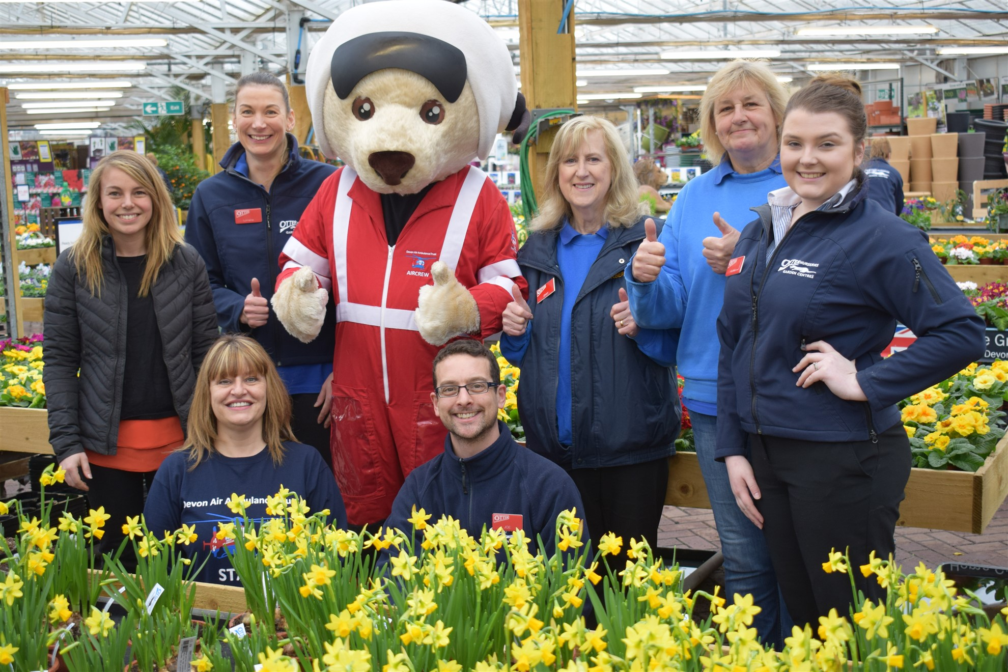 Garden Centre Roots For Devon Air Ambulance The Exeter Daily