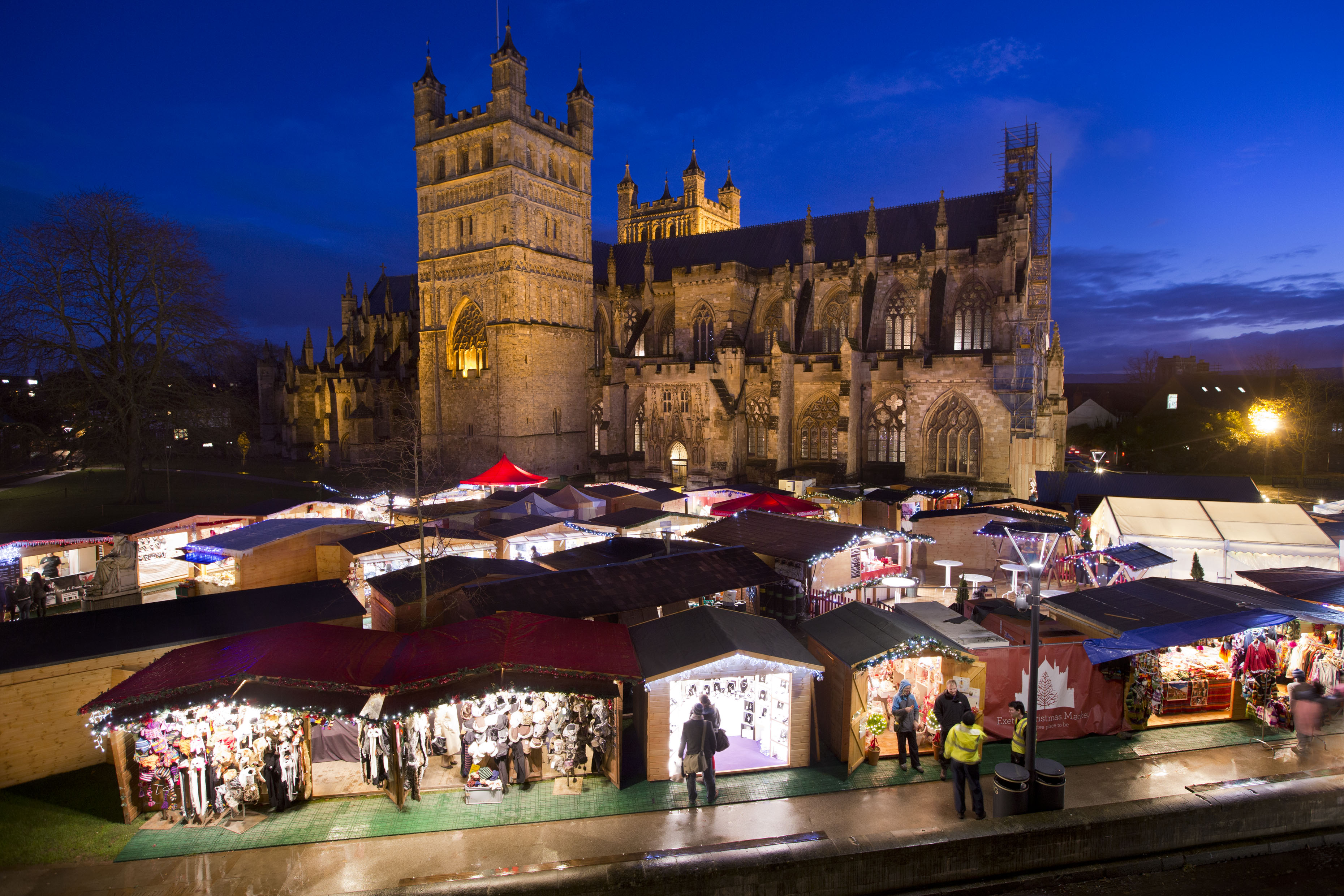 Bringing on the season of love and goodwill; Exeter\'s Christmas ...