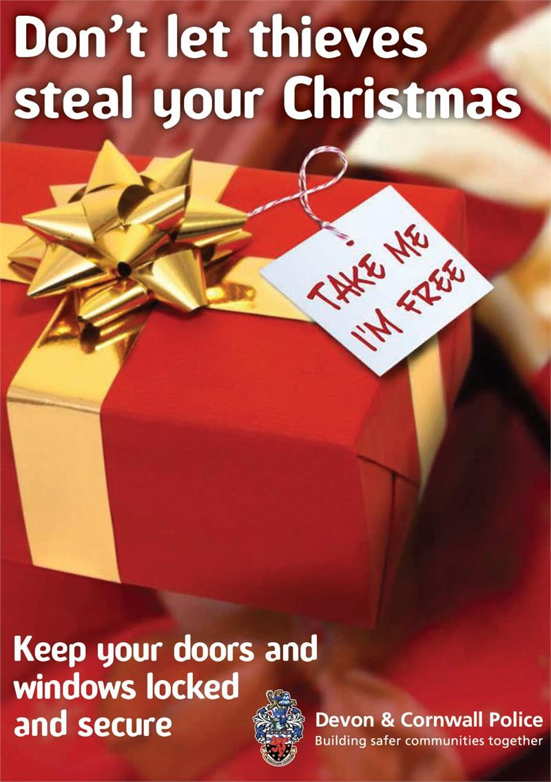 Don 39 t let thieves steal your christmas the exeter daily - How to keep thieves away from your home ...