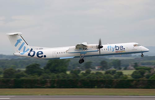 Flybe Announces 100 Job Losses For Exeter In Restructure