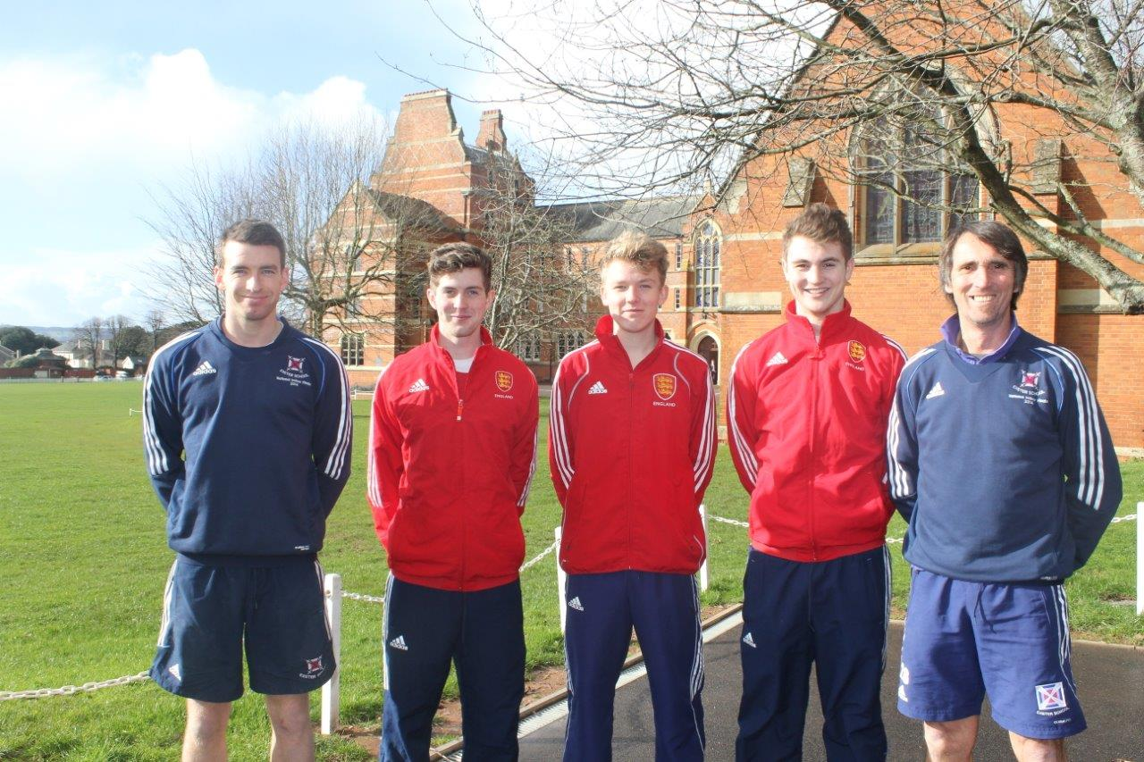 exeter school pupils selected for england u18 hockey squad