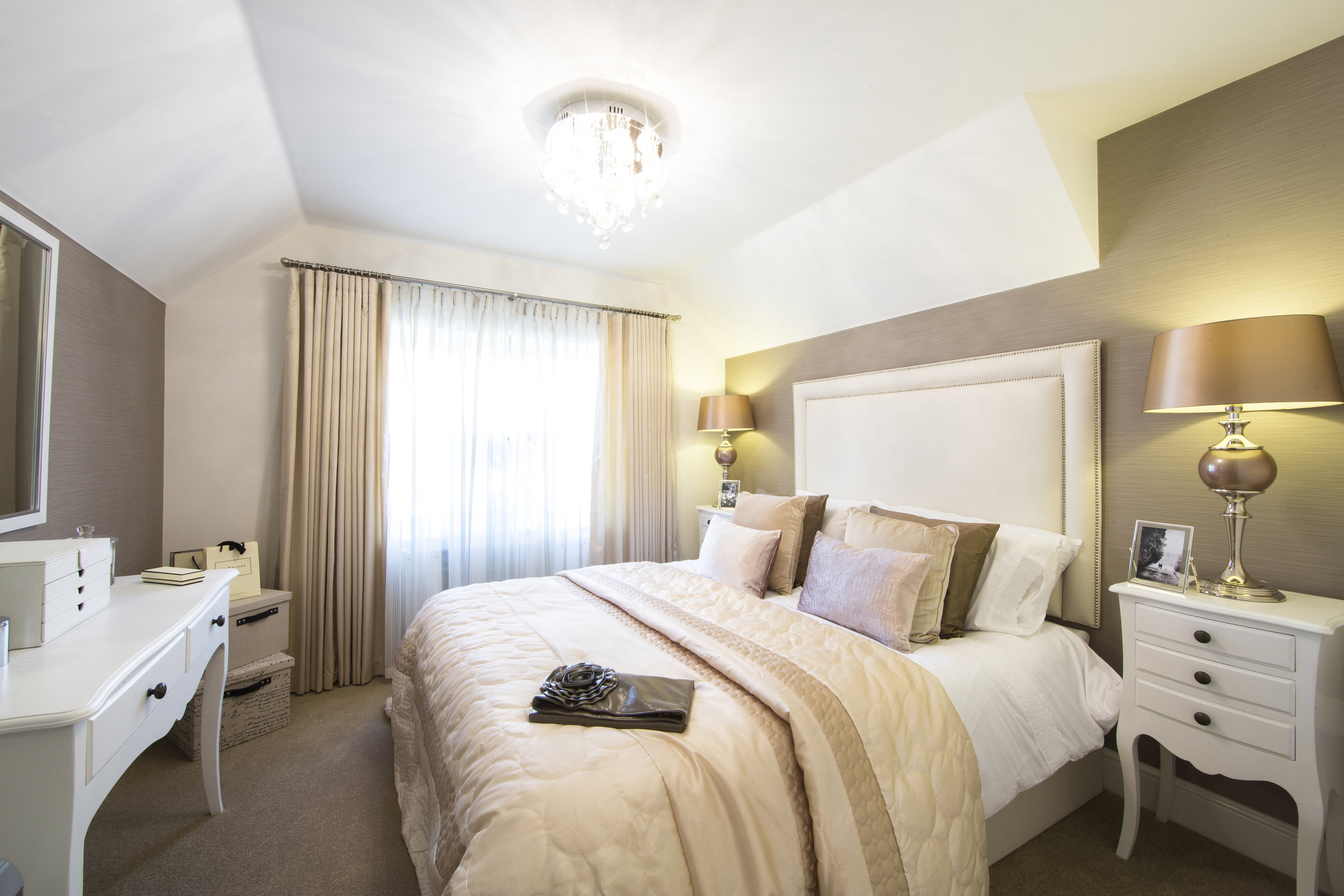 Show Home Bedroom Last Few Properties At Exmouth Development The Exeter Daily