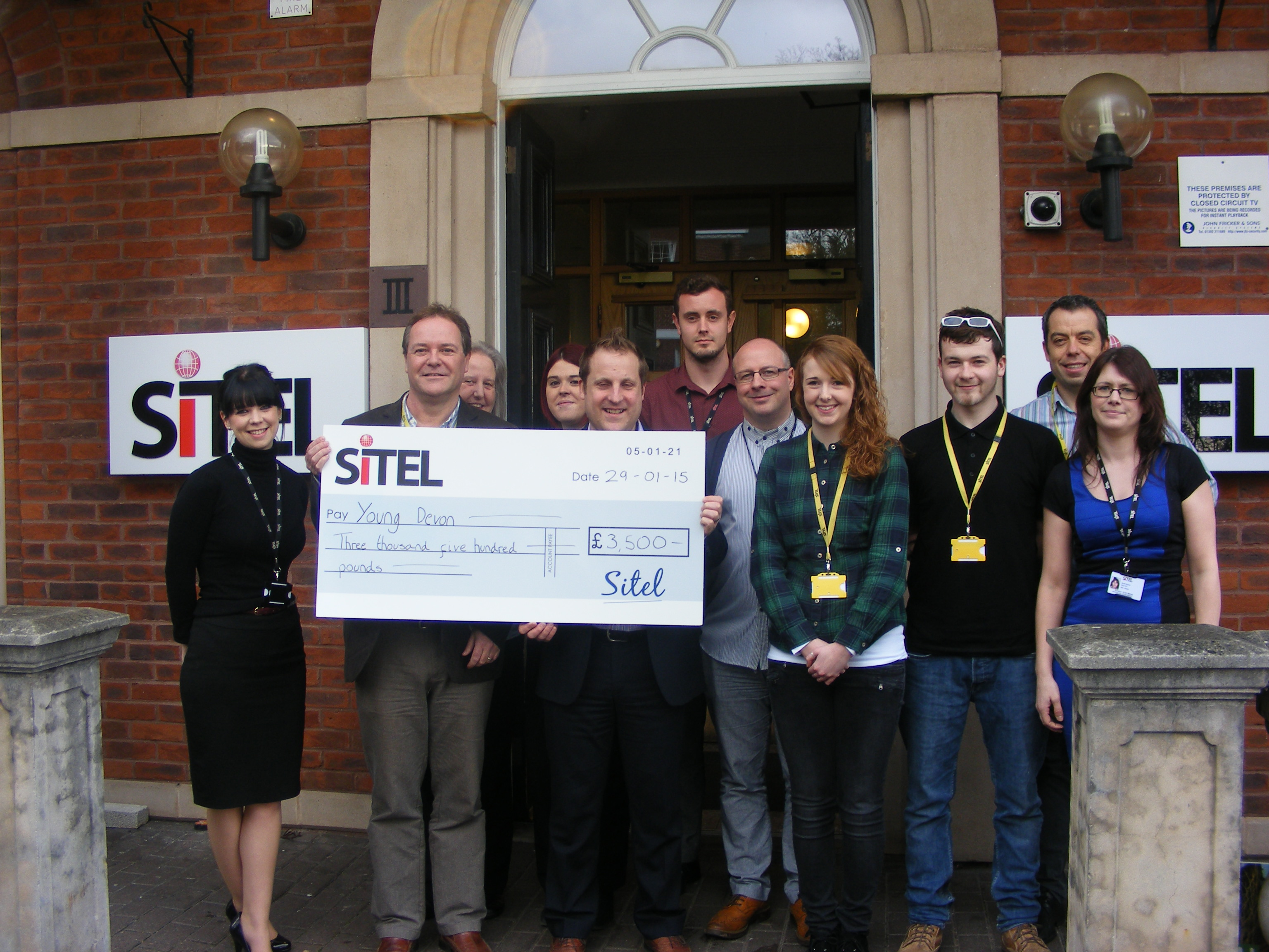Sitel Exeter names Young Devon as Charity of the Year | The Exeter Daily