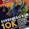 Age UK Exeter 10K Superhero Run Poster