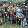 Otter Morris, ready for another performance at the Dartmoor Folk Festival. Photo: Alan Quick.