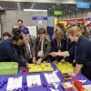 Wiring circuits for navigation lights on Flybe stand