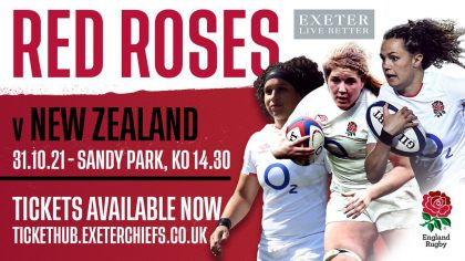 Picture showing the fixture details of Red Roses versus Black Ferns