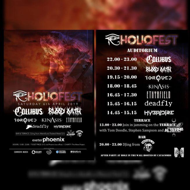 Holiofest lineup 2019