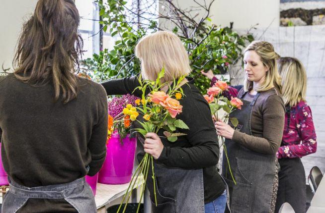 Friendly Floristry Class