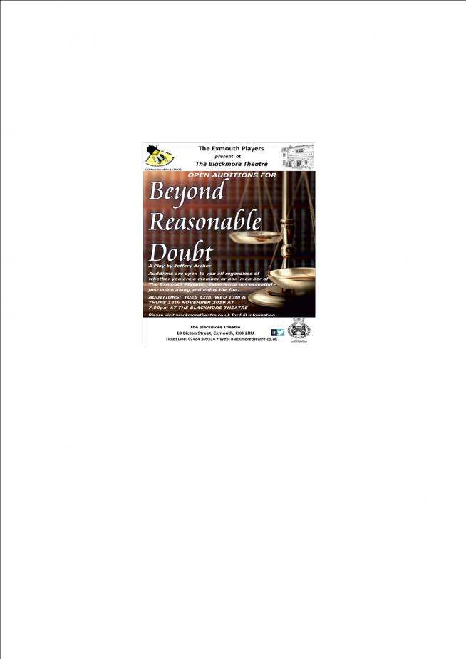 """""""Beyond Reasonable Doubt"""""""