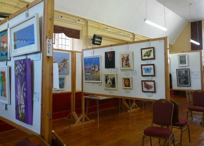 Devon Art Society at St.Anne´s Babbacombe