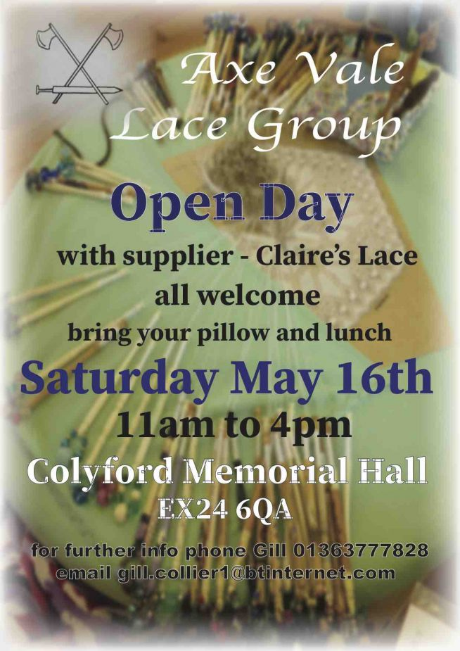 Axe Vale Lace Group Open Day