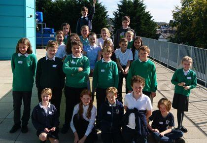 South Devon Primary Children Celebrate World Space Week