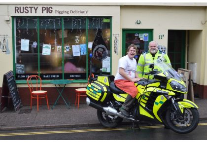 Pig Out For The Devon Freewheelers The Exeter Daily