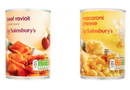 Canned Food Sainsbury S