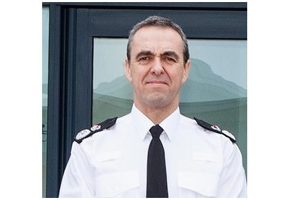 Image result for chief constable shaun sawyer