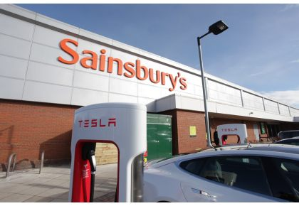 charge your car at sainsbury 39 s in exeter the exeter daily. Black Bedroom Furniture Sets. Home Design Ideas