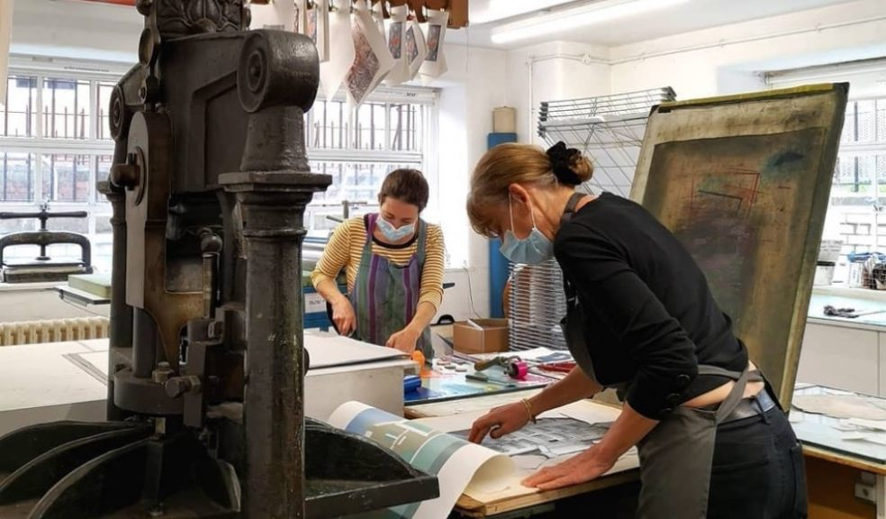 Double Elephant Print Workshop in Exeter