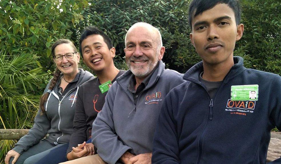 New vet scholarship aids wild orang utans