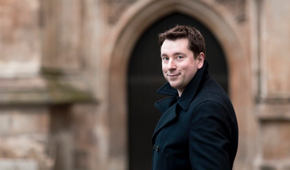 Exeter's Thomas Hobbs sings Gerontius