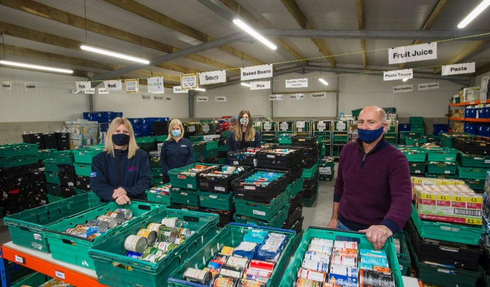 Taylor Wimpey, Exeter Foodbank