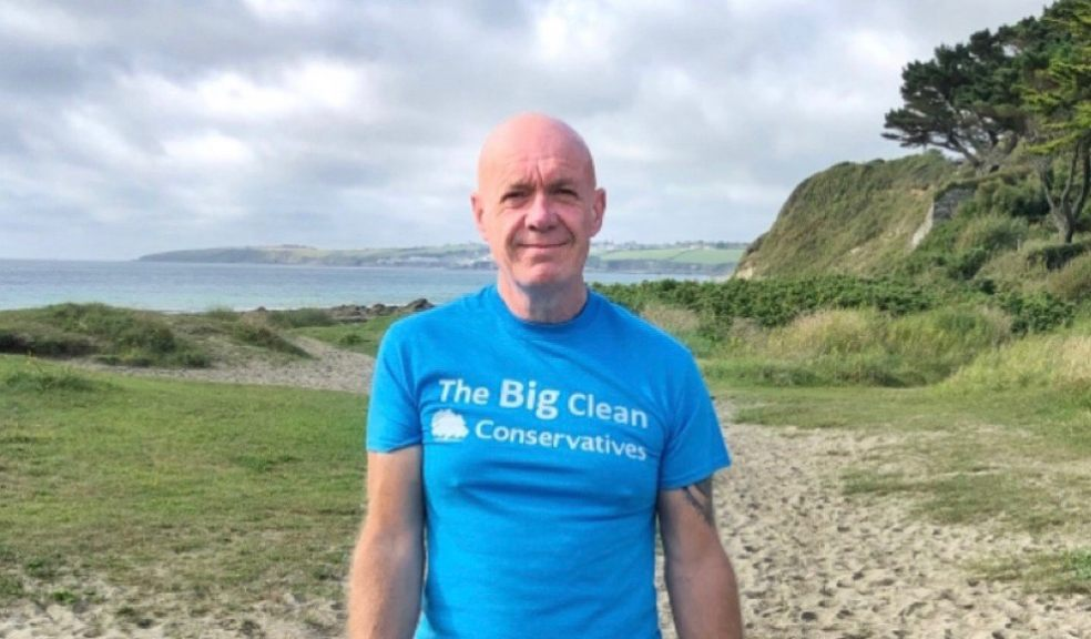 Peter Booth, chairman of South West Conservatives, is keen to welcome people to The Big Clean events across the region this weekend.