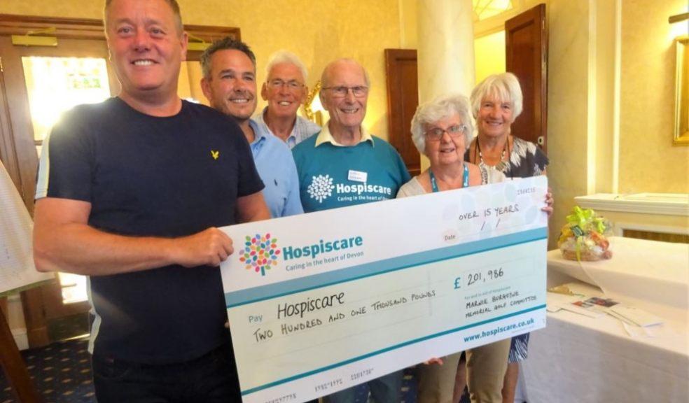 Devon businesses donated £16717 to Hospiscare