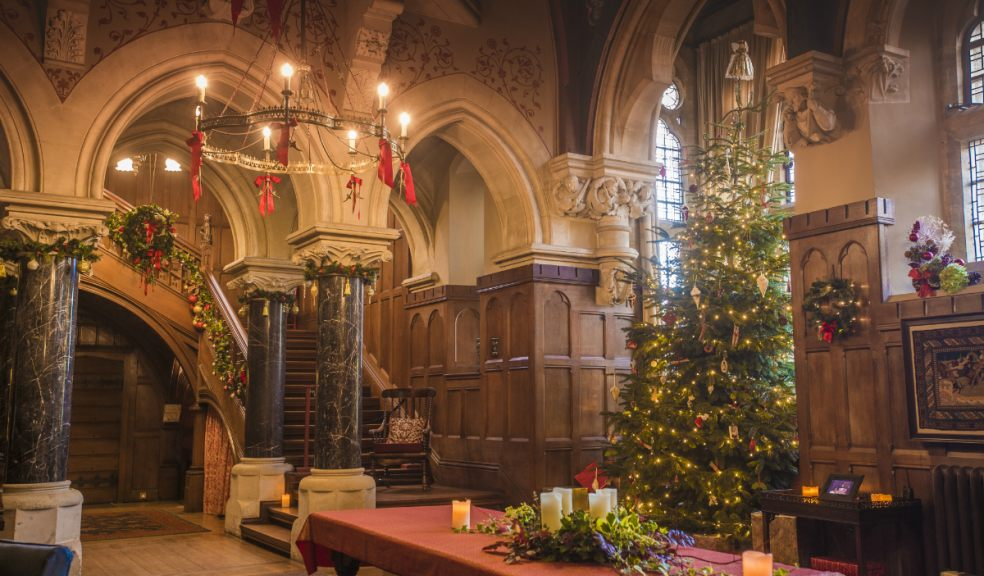 Traditional Christmas.A Traditional Christmas At Knightshayes The Exeter Daily