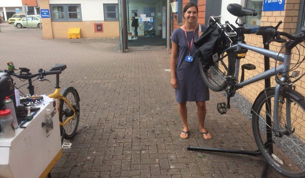 Ride on treats NHS staff to free Dr Bike Checks