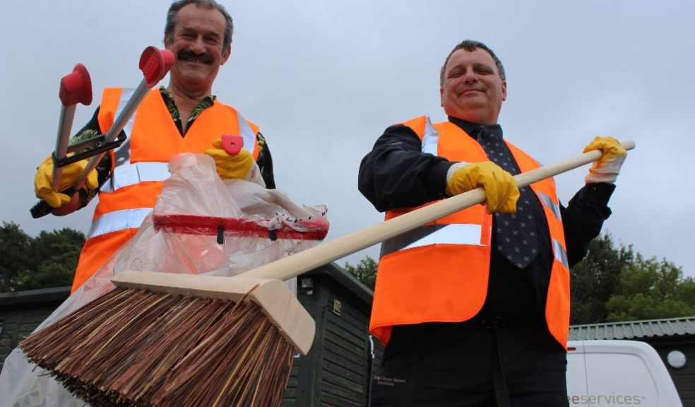 Exeter Tidy Group Percy Prowse & Graham Turner