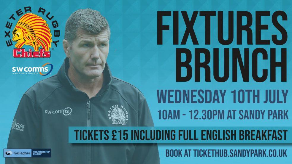 Exeter Chiefs Fixtures Brunch