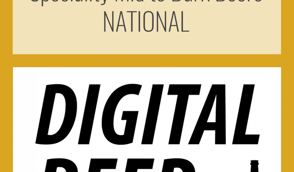 Gold winner Digital Beer Awards