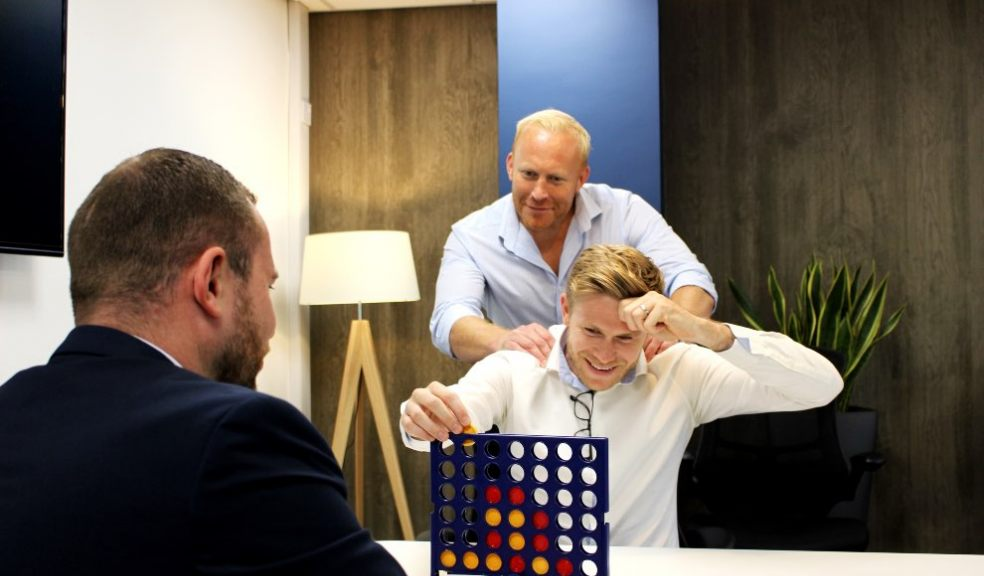 Owen Richards, Managing Director at Air Marketing, training for the CHICKS Superstar Games with his team.