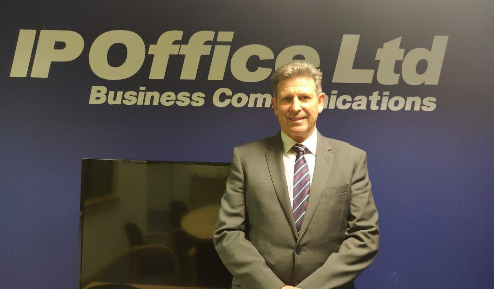 Martin Charlton Business Director at IP Office Ltd Sponsors of Extery City FC