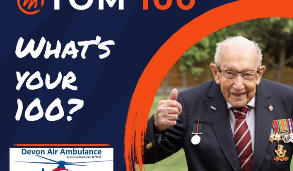 Support Devon Air Ambulance with theCaptain Tom 100 Challenge